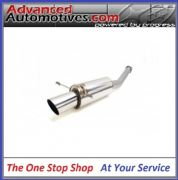 "RCM 2.5"" REAR EXHAUST SILENCER 4.5"" TAILPIPE RCM696"